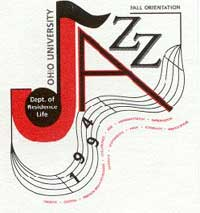 Jazz theme graphic