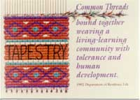 Tapestry theme graphic