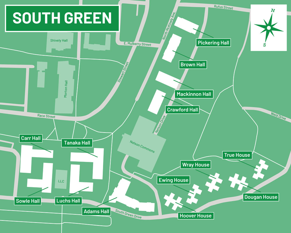 South Green Map