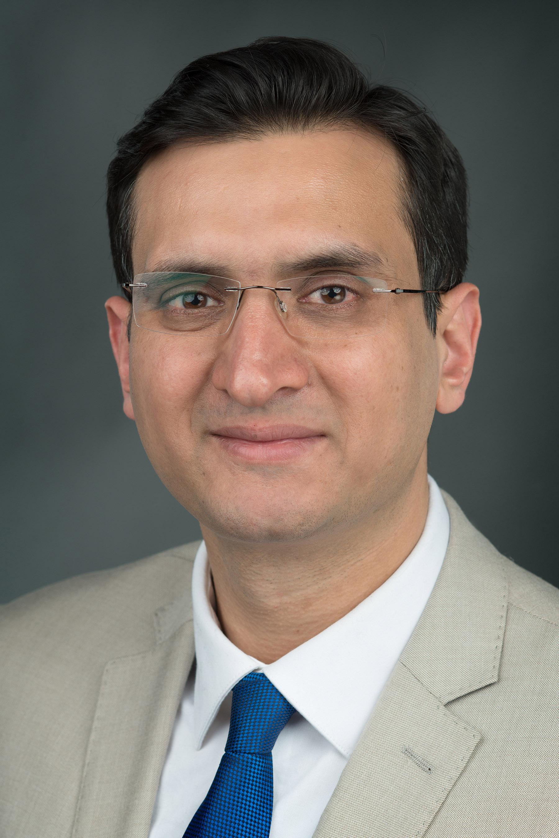 Portrait of M. Laeeq Khan