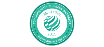 UBI Global 2015 Top University Business Incubator Notrh America Top 10