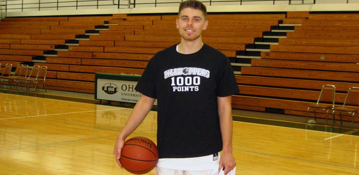 Men's Basketball, Celebrating Blake Warrington's 1000 points