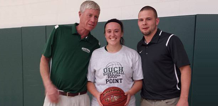 Women's Basketball, Celebrating Brittany Readers 1000 point