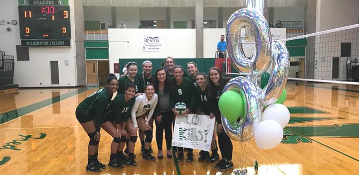 Women's Volleyball, Celebrating Bailey Hall's 1000 Kills