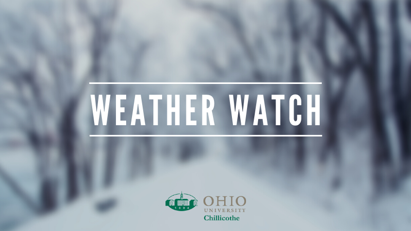 Ohio University Chillicothe inclement weather procedures