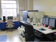 A room that contains a Flow Cytometer