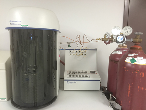 Perkin-Elmer BET Surface Analyzer
