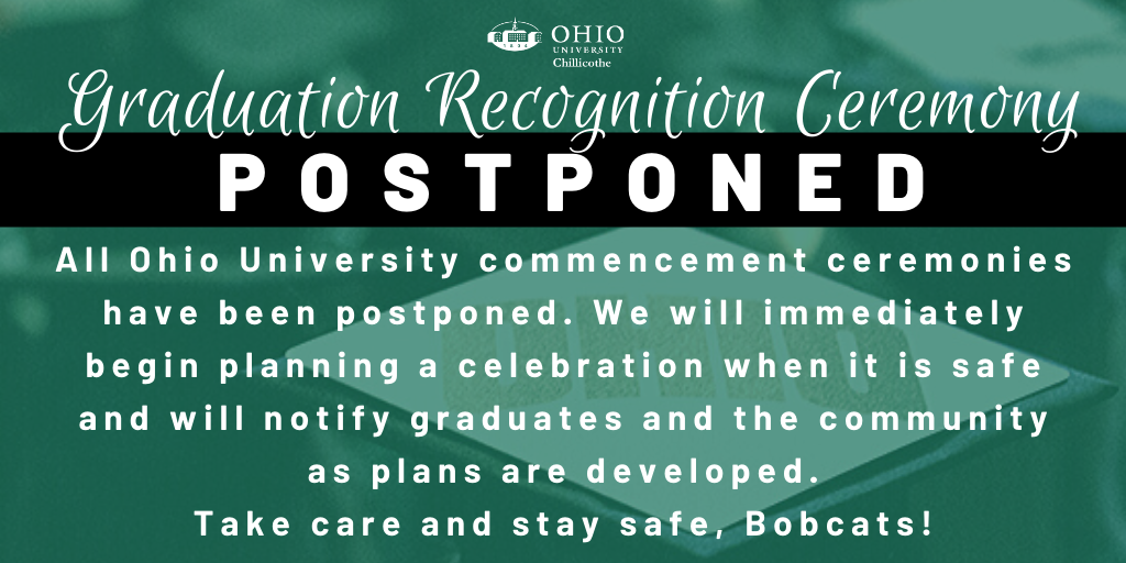 2020 Spring Commencements postponed image