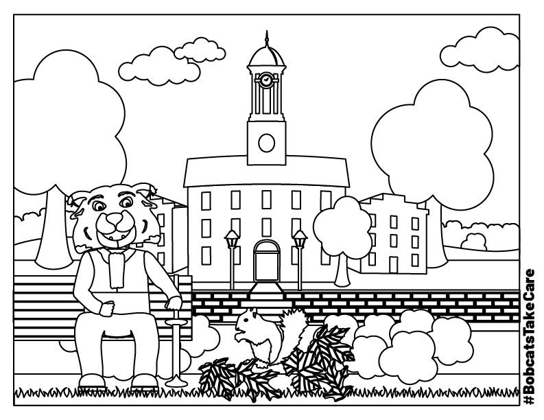 Macho Coloring Pages Of Tractors | Construction | Free | BOBCAT | 612x793