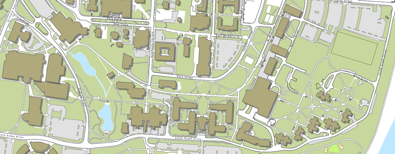 Map of Ohio University South Green