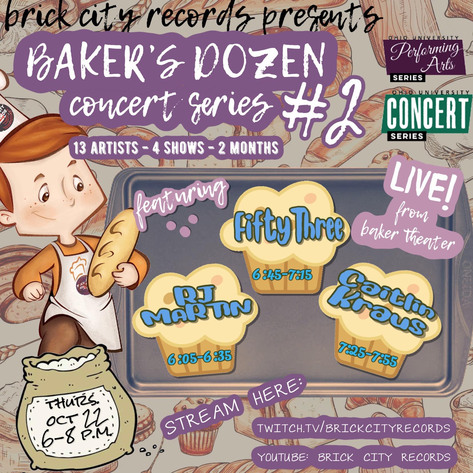 Baker's Dozen Concert Series #2