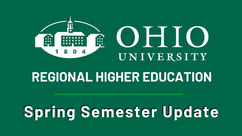 Spring semester plans announced for OHIO Regional Campuses