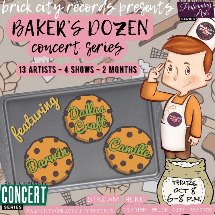 Baker's Dozen Concert Series - Oct 8 image