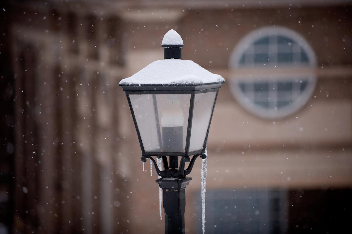 ohio campus winter