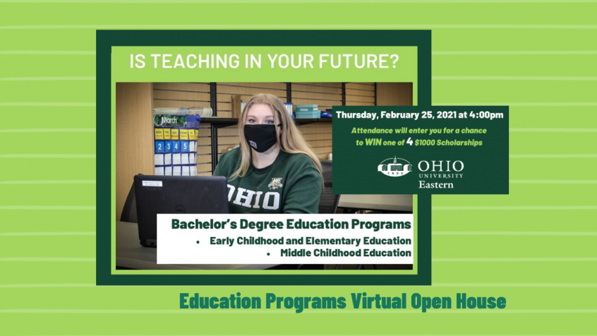 Is teaching in your future? OHIO Eastern education programs to host virtual open house