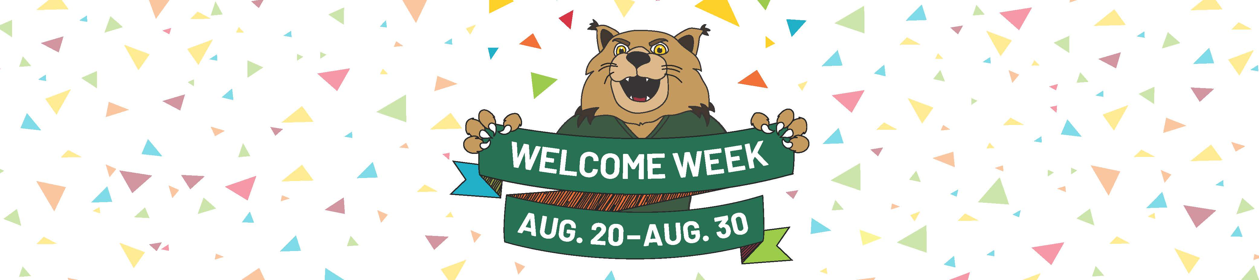 Welcome Week Web Banner