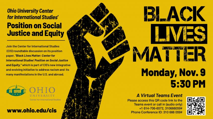 CIS BLM flyer