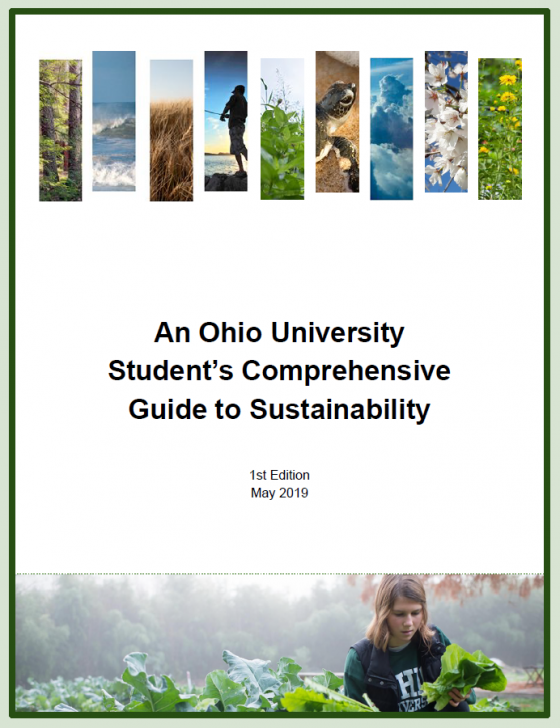 Student Guide to Sustainability at Ohio University