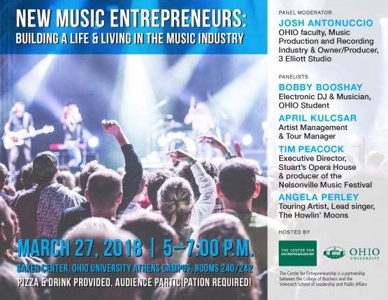 New Music Entrepreneurs: Building A Life & Legacy in the Music Industry Flier