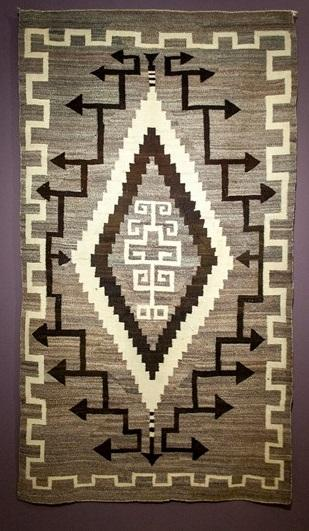 KMA, Two Grey Hills Weaving, Unknown weaver