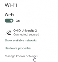 Wi-Fi On/Off Button