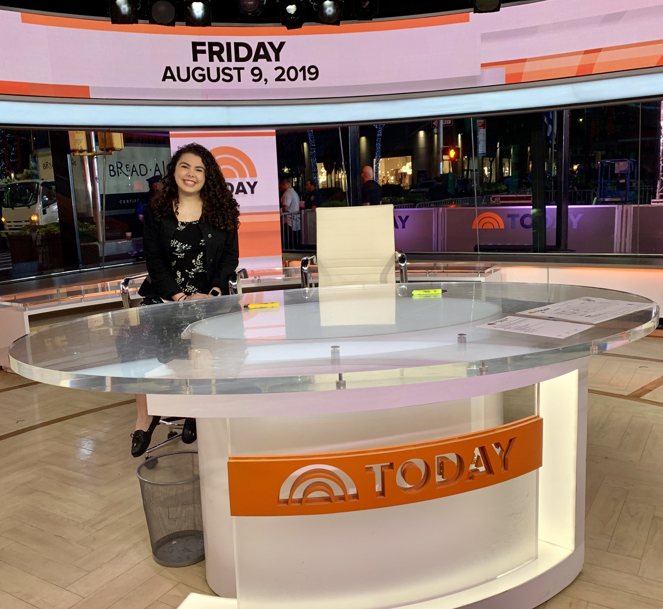 OHIO junior wins $10,000 scholarship, completes Today Show internship through Native American Journalists Association