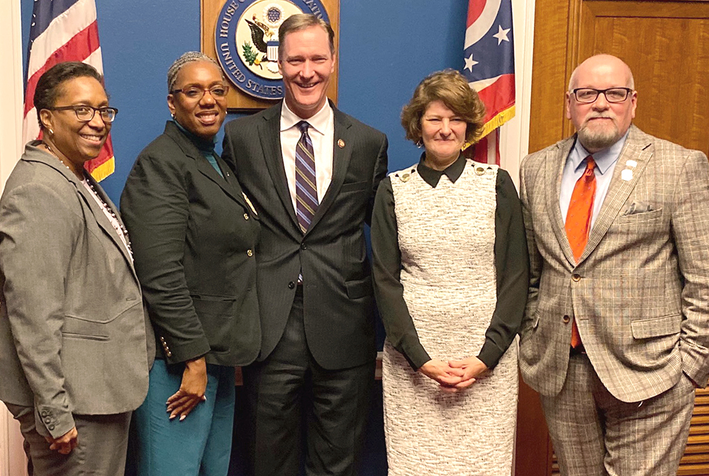 2019 EPPLC cohort members from Ohio meet Rep. Steve Stivers