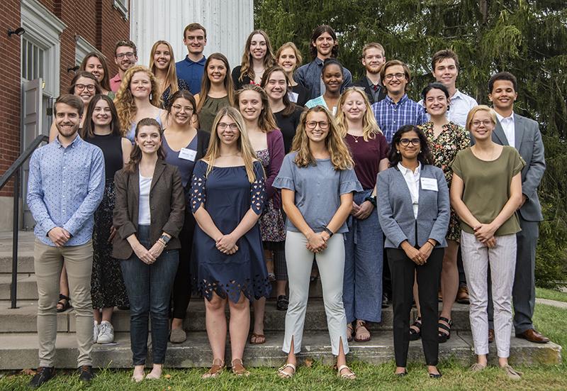 Ohio University 2021-22 Calendar Voinovich Undergraduate Research Scholars accepting applications