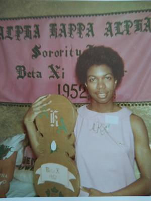 Ferne Ziglar is pictured at the 1969 Alpha Kappa Alpha Great Lakes Regional Conference.