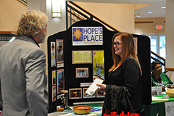 Participants learn about Hopes Place and various behavioral and mental health resources in the Tri-State area.