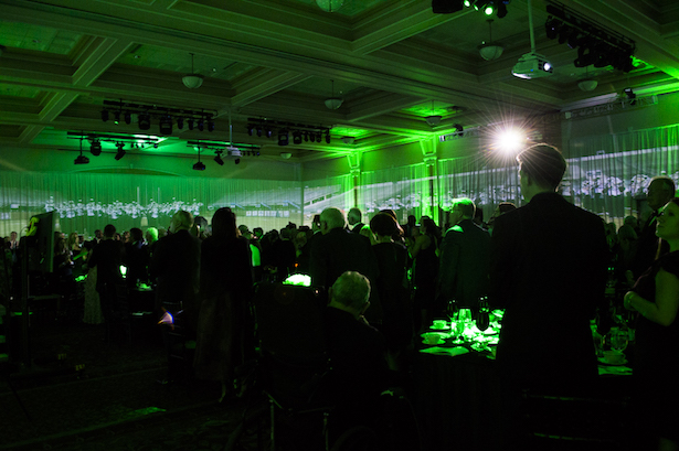 The annual Alumni Awards was held in University Baker Center Ballroom