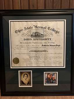 Great-Grandmother's Diploma from 1922