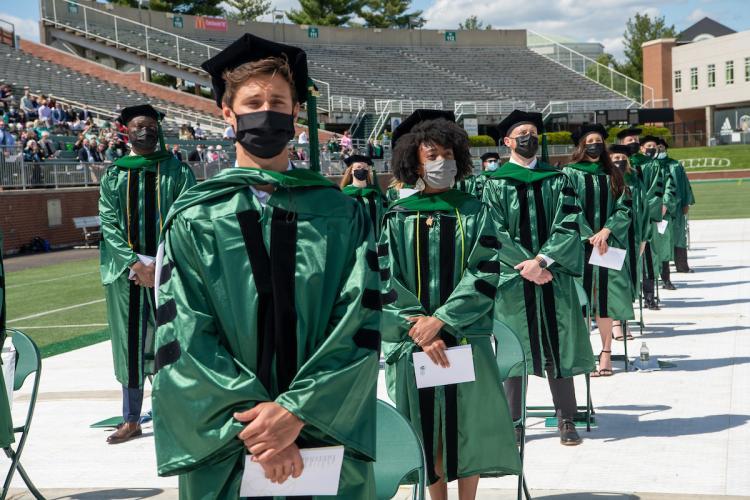 HCOM students at graduation