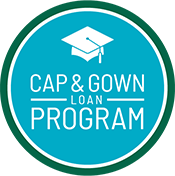 Cap and Gown Loan Program Logo