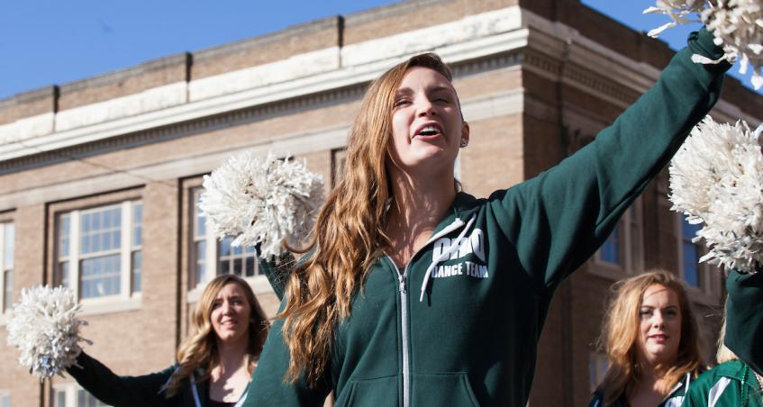 OHIO Dance Team spirit and recruitment not hindered by virtual environment