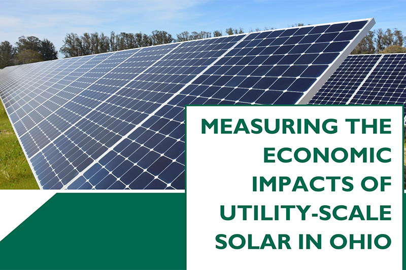 Measuring the economic impacts of utility-scale solar in Ohio